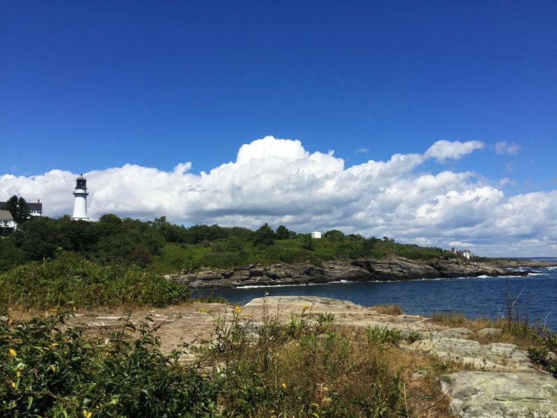 Maine Coastline, Near Portland, East Coast Road Trip