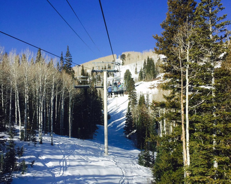 Park City Mountain Resort Chairlist