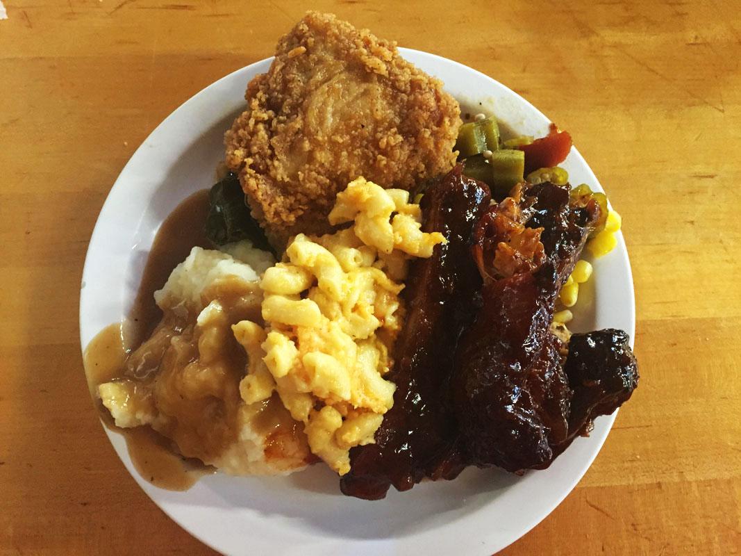 Southern Food, Myrtle Beach, East Coast Road Trip