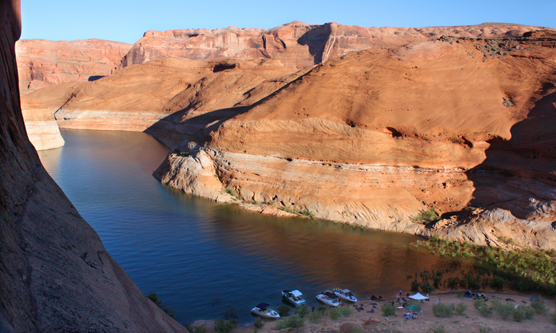 Bryce Canyon Country, Boating on Lake Powell