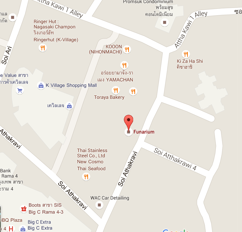 How to Find Funarium Bangkok Indoor Playground