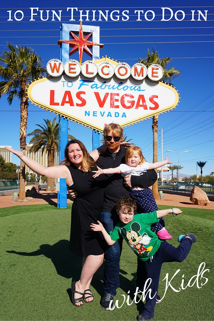 10 Fun Things to Do in Las Vegas with Kids