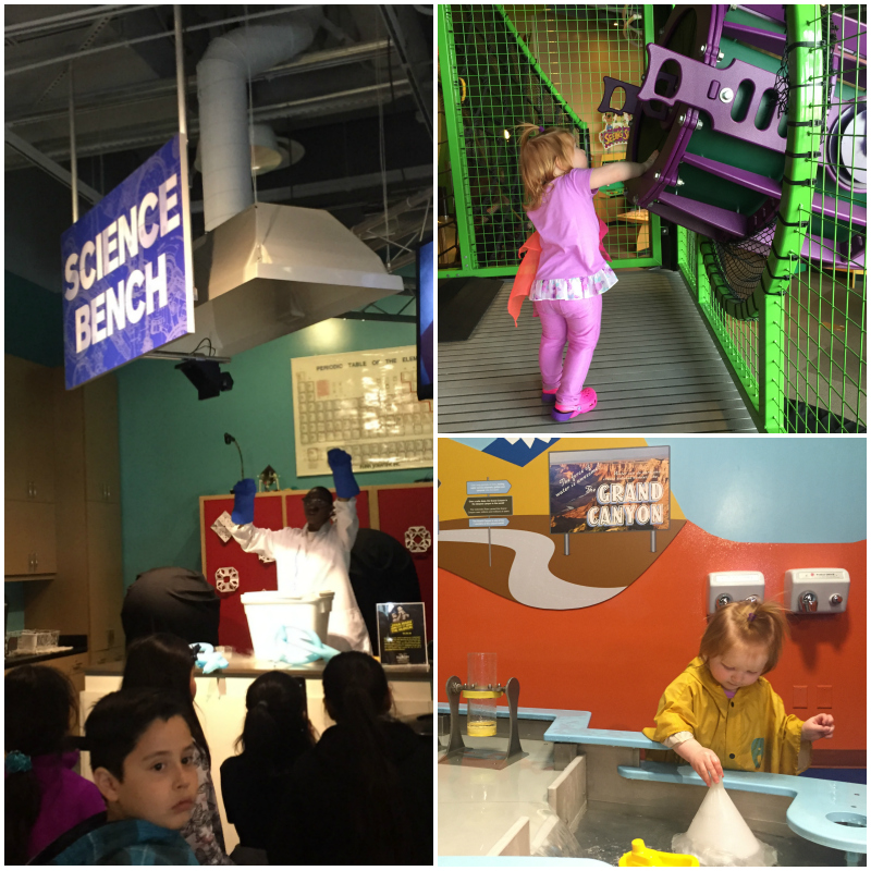 Discovery Children's Museum Las Vegas Collage