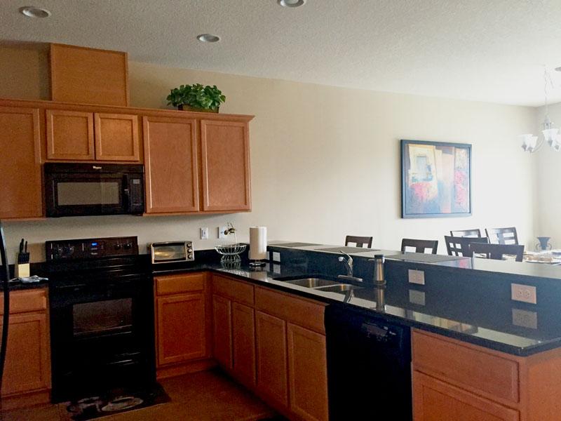 Kitchen in Our Orlando Villa