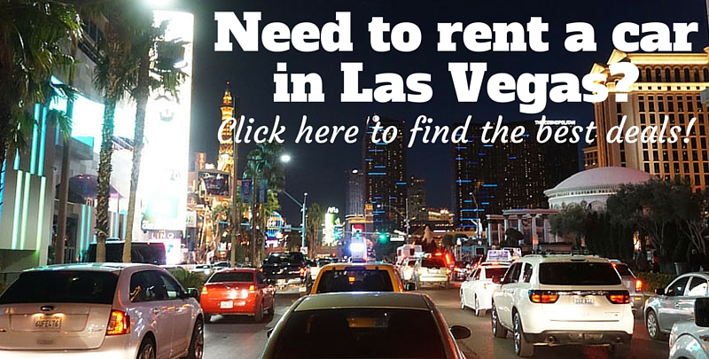 Need to rent a car in Las Vegas