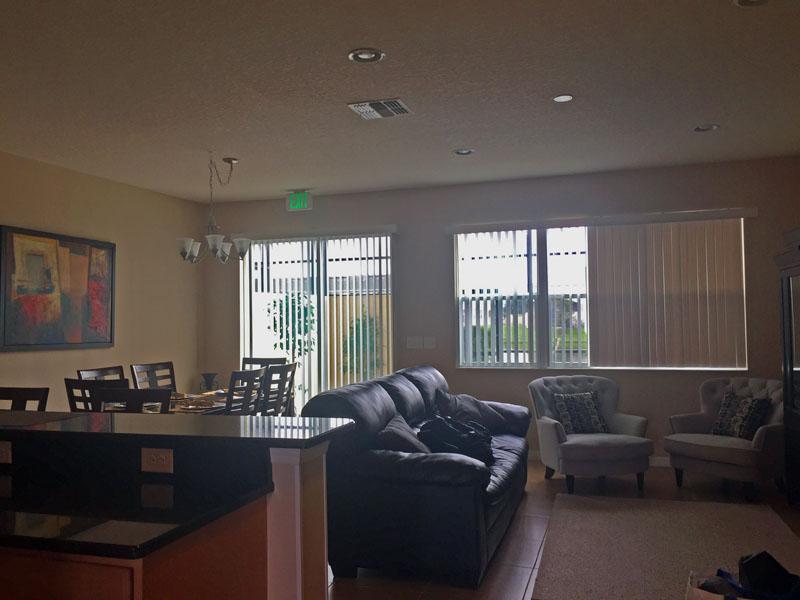 Spacious Living Area in Our Orlando Villa