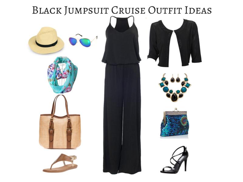 Black Jumpsuit Cruise Outfit Ideas