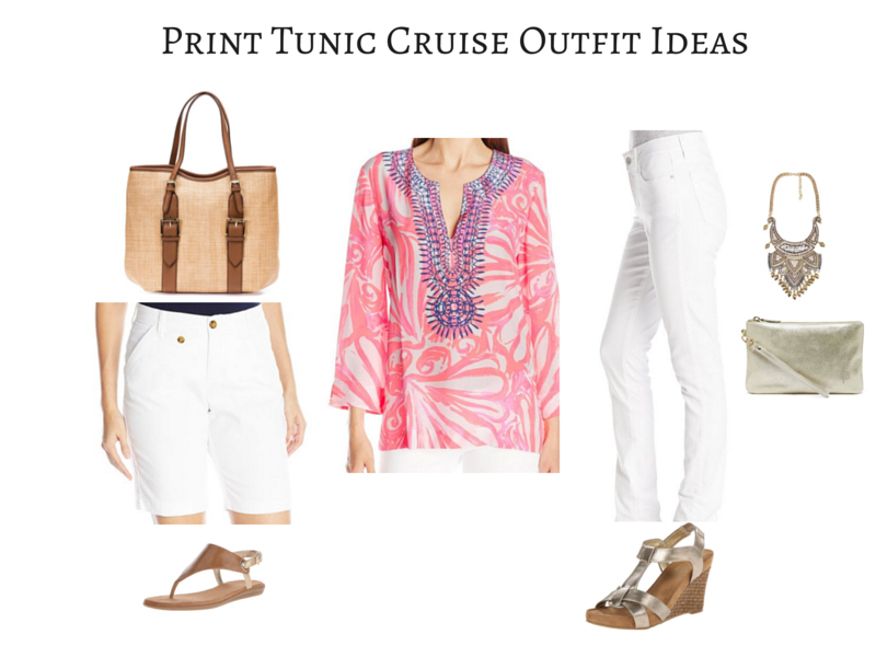 Pink Tunic Cruise Outfit Ideas