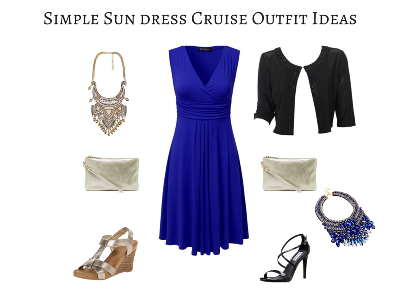 Simple Sundress Cruise Outfit