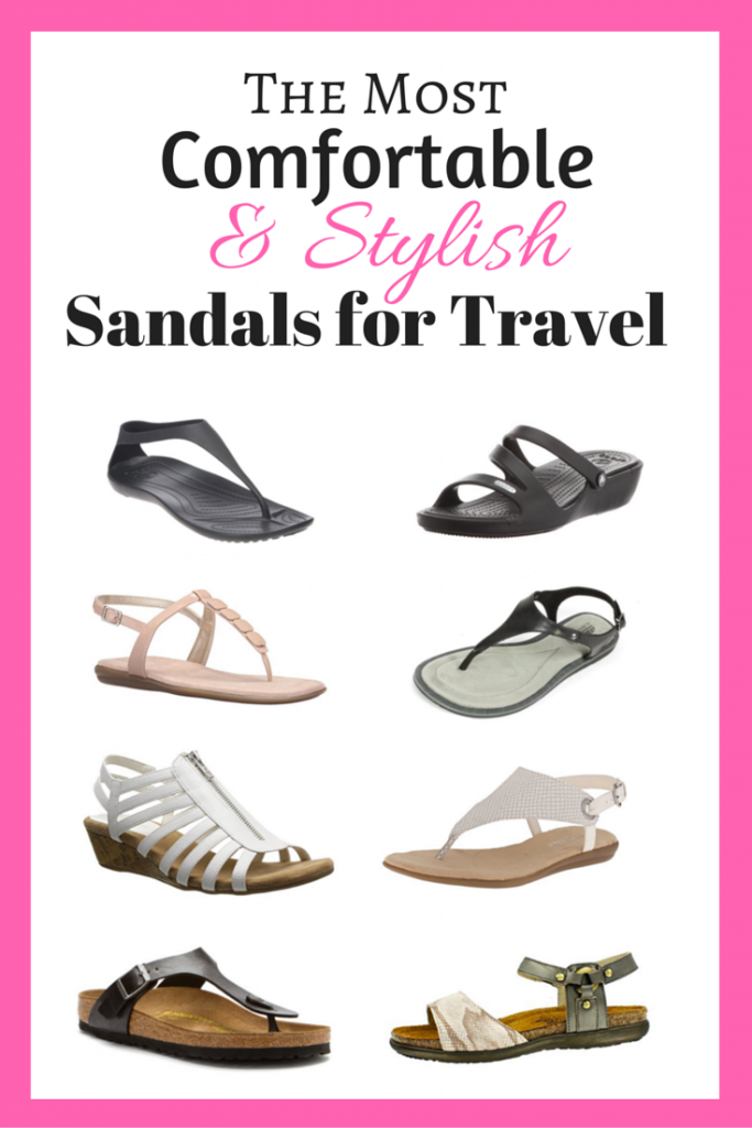 The Most Comfortable & Stylish Sandals for Travel