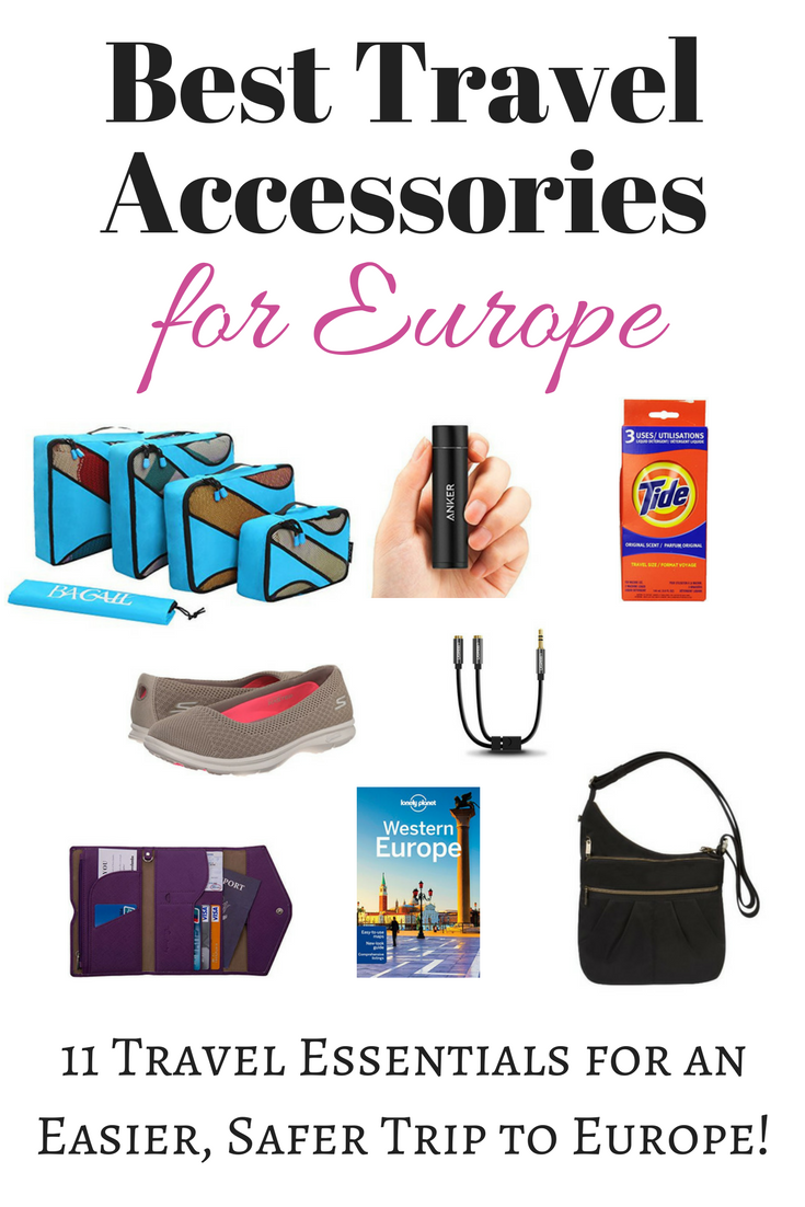Best Travel Accessories for Europe