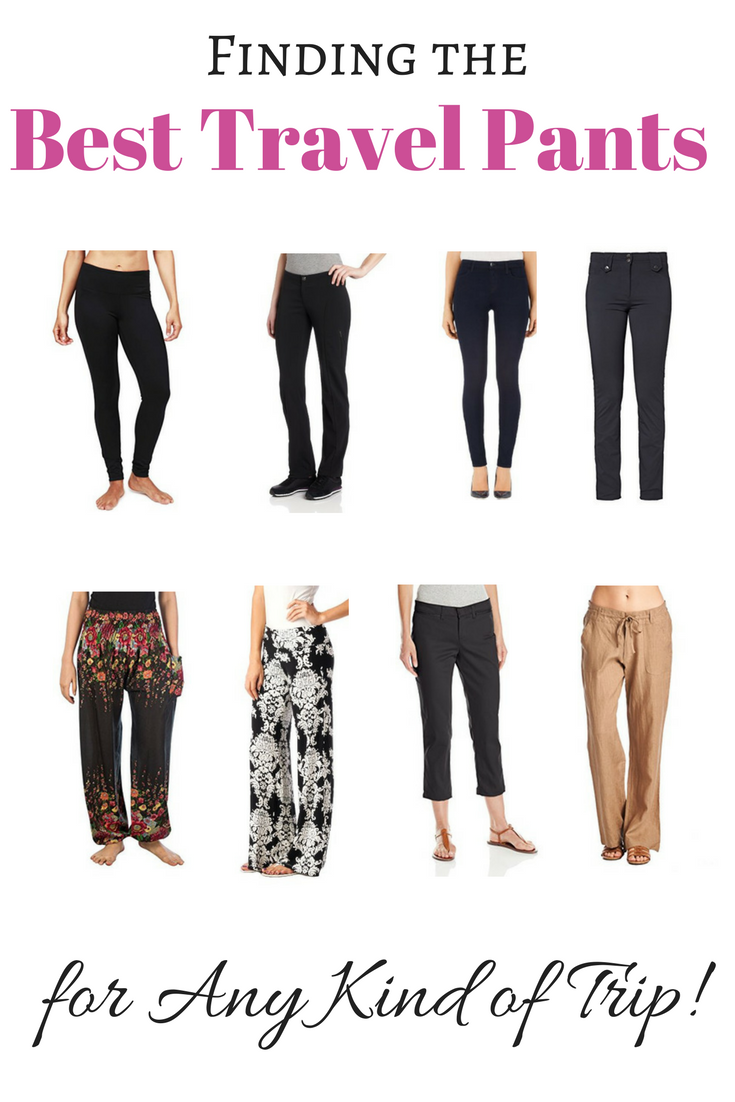 The Best Travel Pants for Any Kind of Trip - Women's and Men's Included