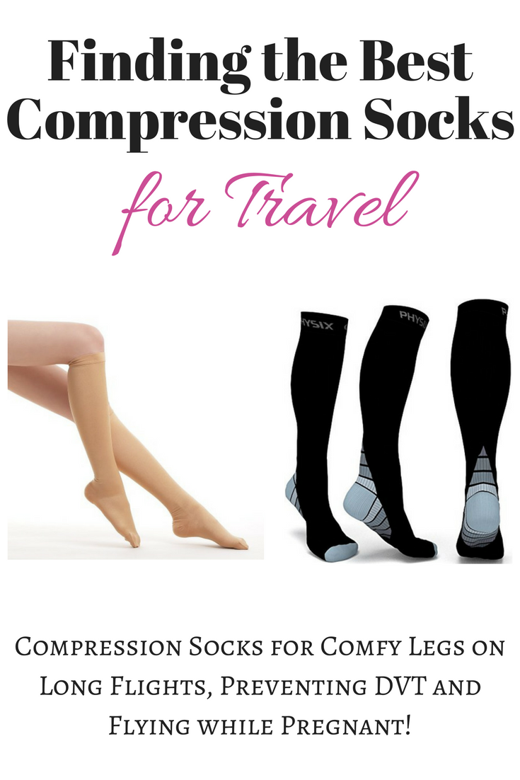 Finding the Best Compression Socks for Travel