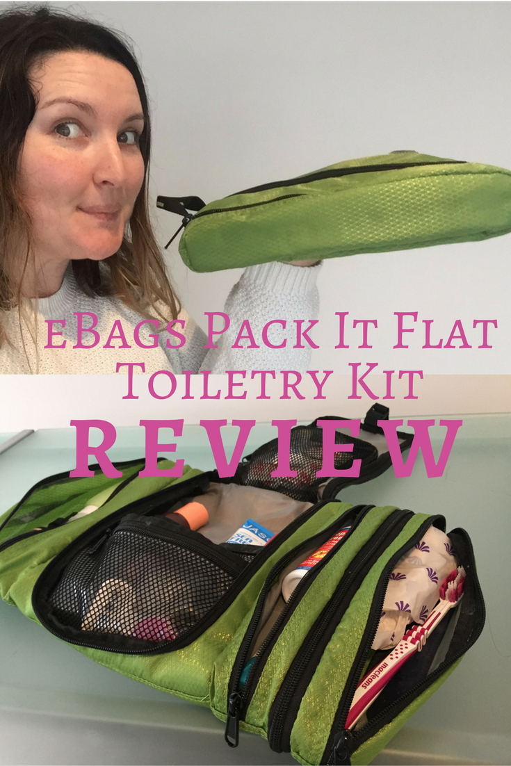 eBags Pack It Flat Toiletry Kit Review