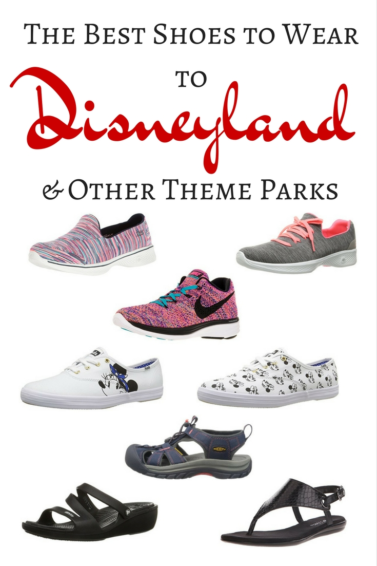 The Best Shoes to Wear to Disney and Other Theme Parks