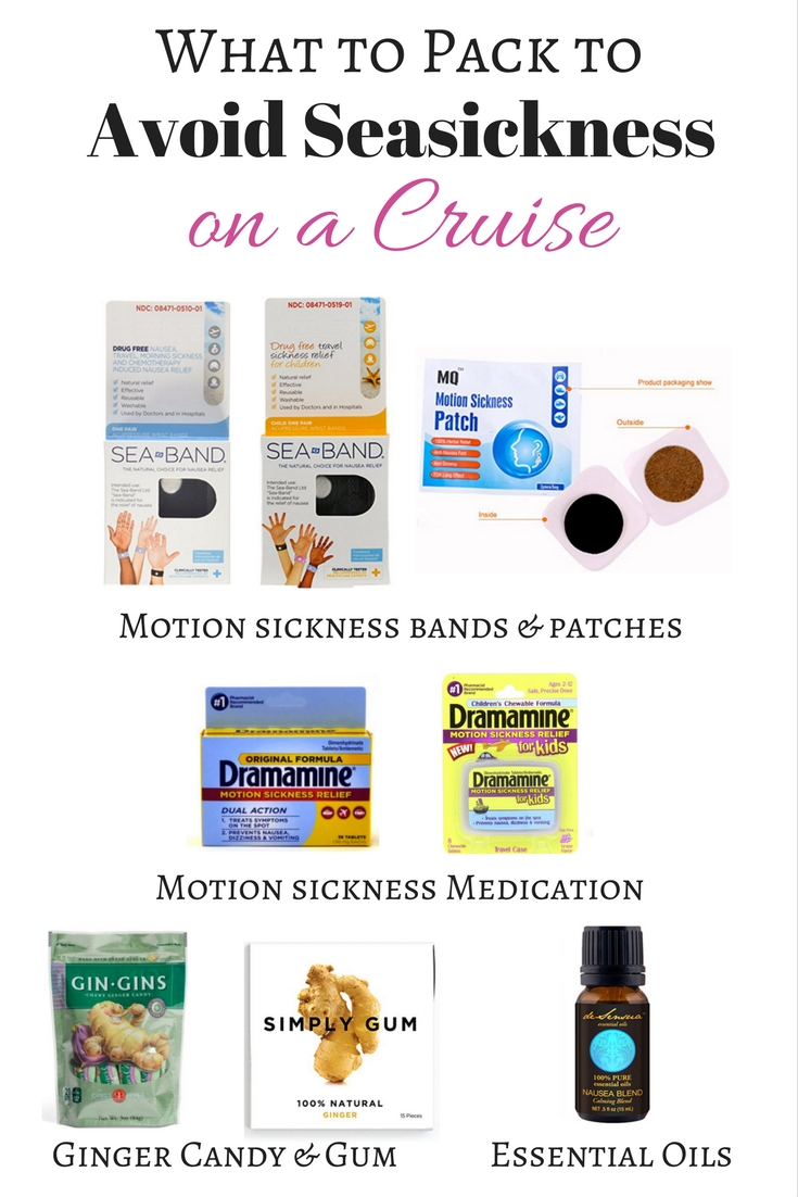 What to Pack to Avoid Seasickness on a Cruise