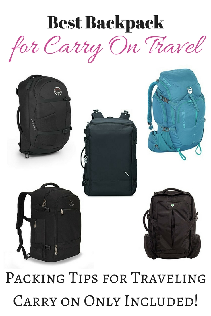 Best 40L Backpack for Carry On Travel