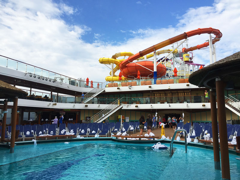 Carnival Breeze Waterworks and Pool