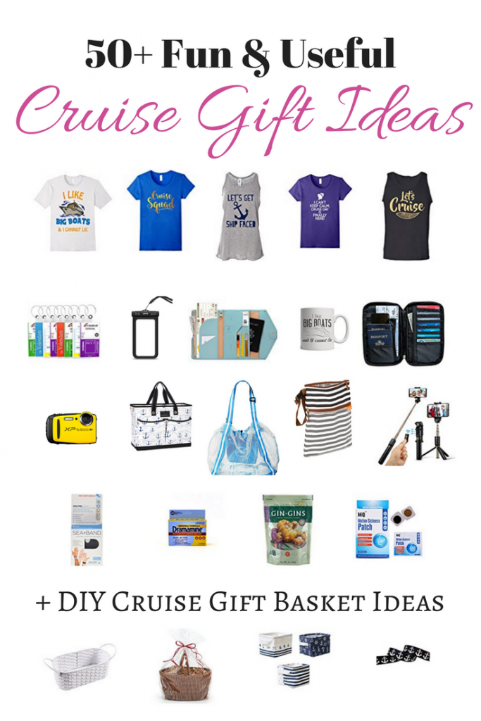 Best Gifts for Cruisers: 50+ Fun & Useful Cruise Gift Ideas + DIY Cruise Gift Basket Ideas