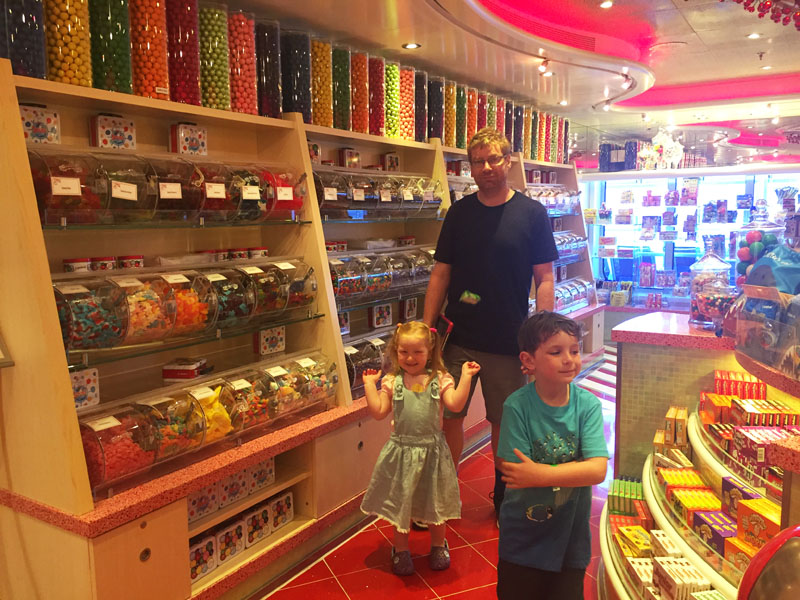 The Candy Store on Carnival Breeze