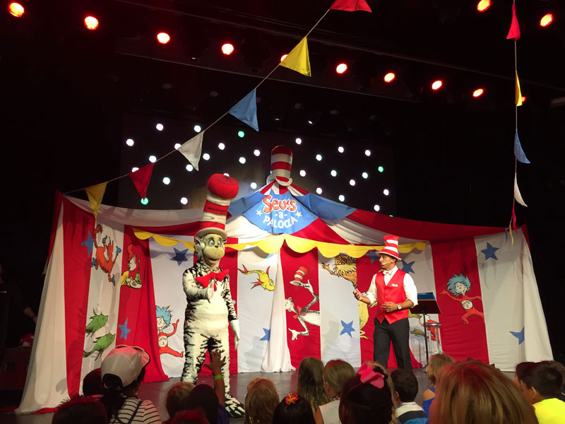 Cat in the Hat on Carnival Breeze
