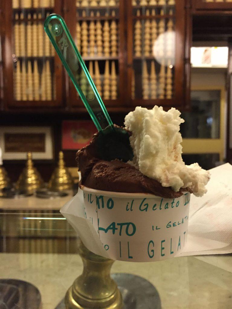 Gelato in the Navigli Canal District, Milan