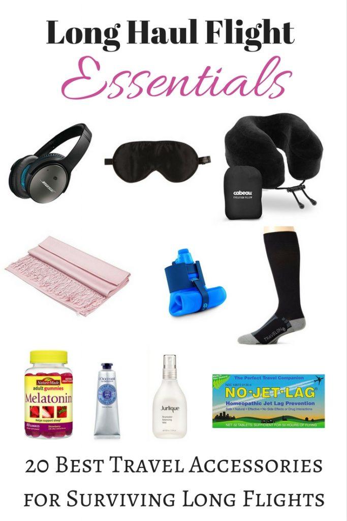 Long Haul Flight Essentials: 20 Best Accessories for Long Flights
