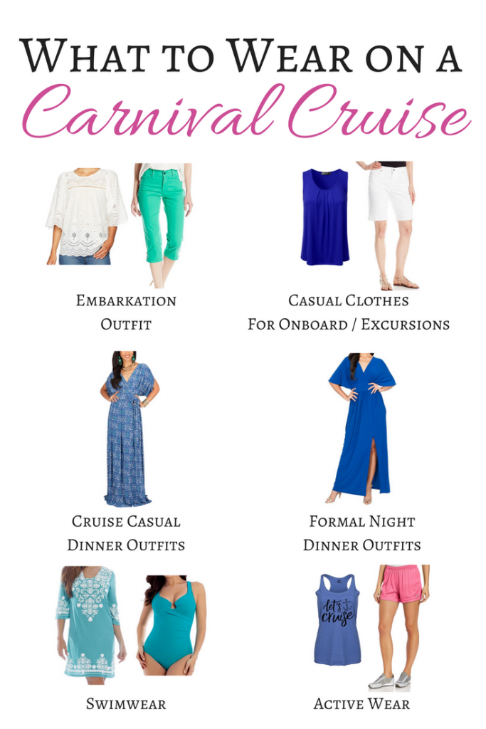 What to Wear on a Carnival Cruise