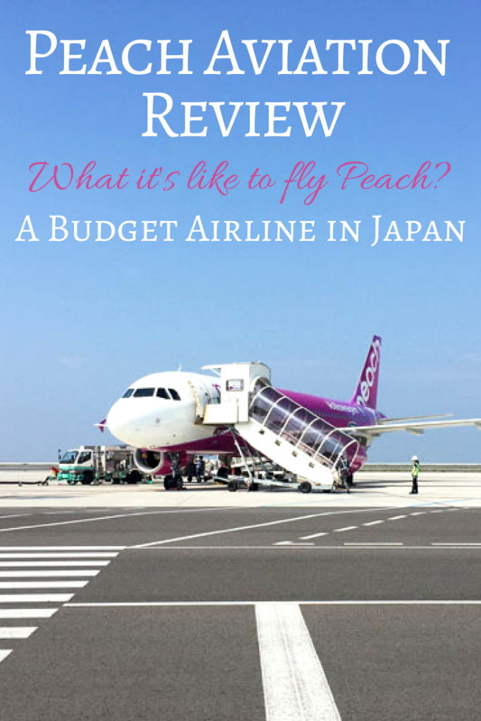 Peach Aviation Review: What it's like to fly Peach? A review of Peach airlines, a budget airline in Japan