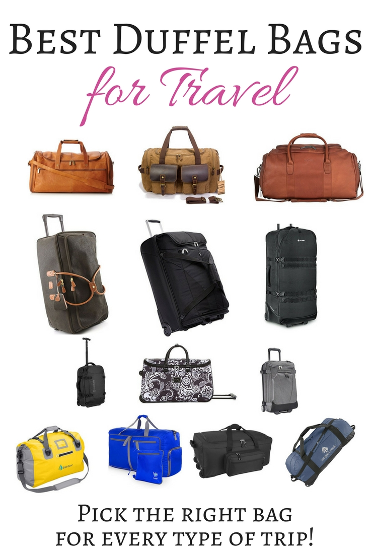 Best Duffel Bags 2018 - Best Duffel Bags for Travel