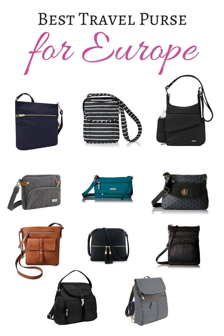 Best Travel Purse for Europe