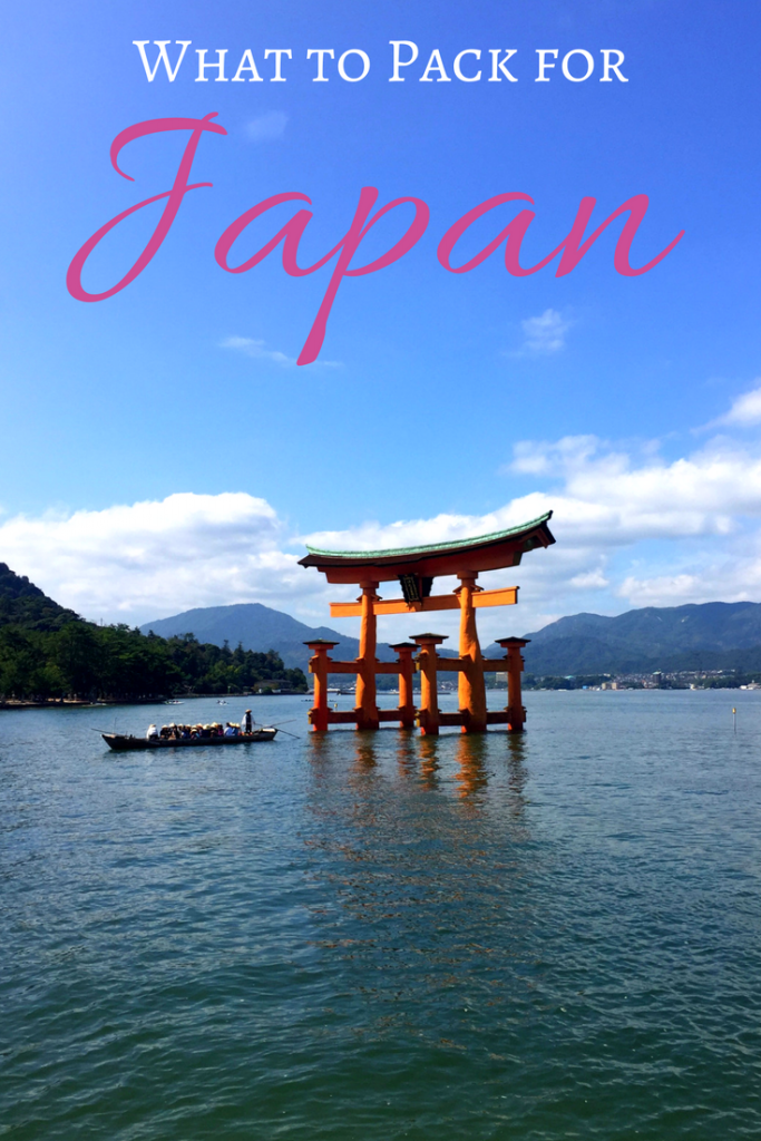 What to Wear in Japan - Packing List, Packing Tips and What to Wear in Japan
