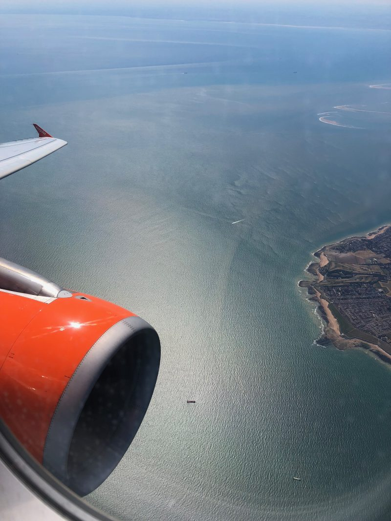 Flying between Europe and the UK on Easyjet