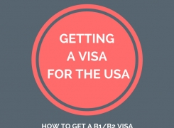 Getting a B1/B2 Visa for the USA
