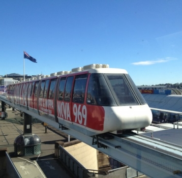 Farewell to the Sydney Monorail