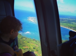 Kauai Island Helicopter Tour with Kids