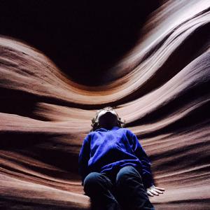 Reuben, Angel Wings, Antelope Canyon